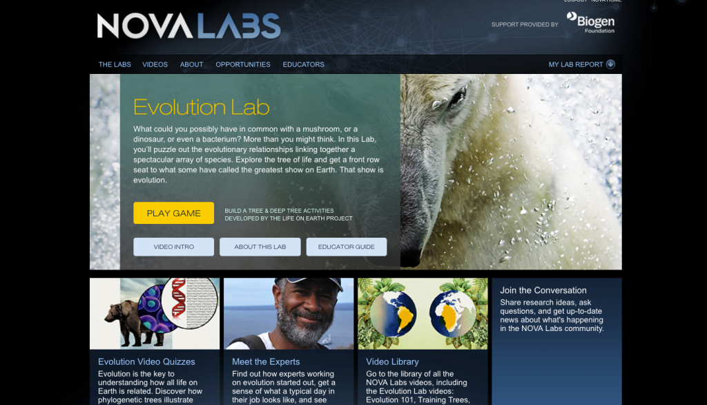 Nova's Evolution Lab