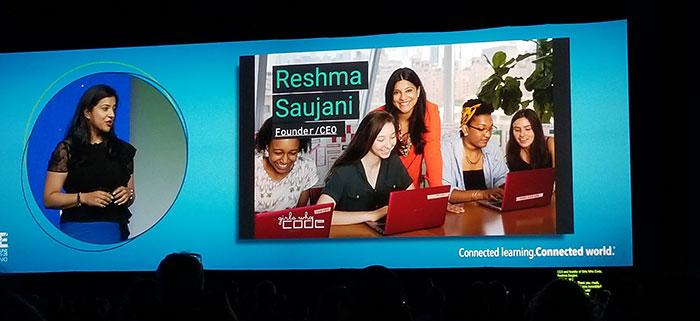 Reshma Saujani at ISTE 2017