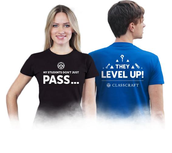 ISTE 2017 Classcraft T-shirts
