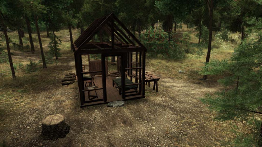 Walden Game Cabin Summer