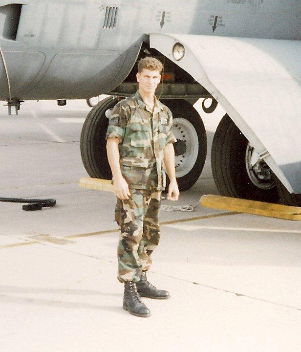 Louis Neglia uniform Airforce
